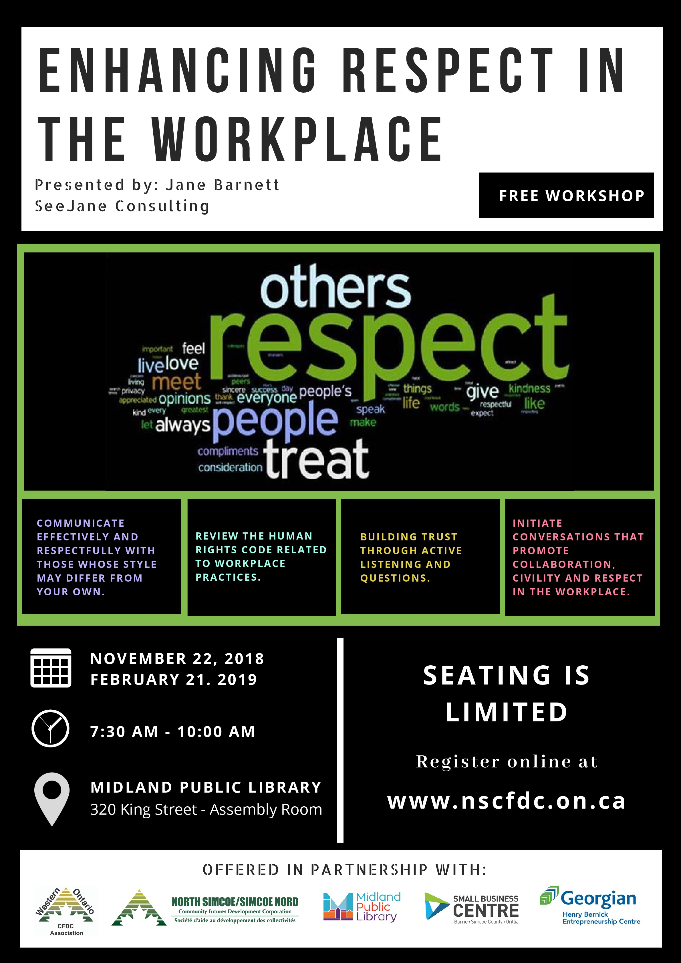Workshop: Enhancing Respect in the Workplace