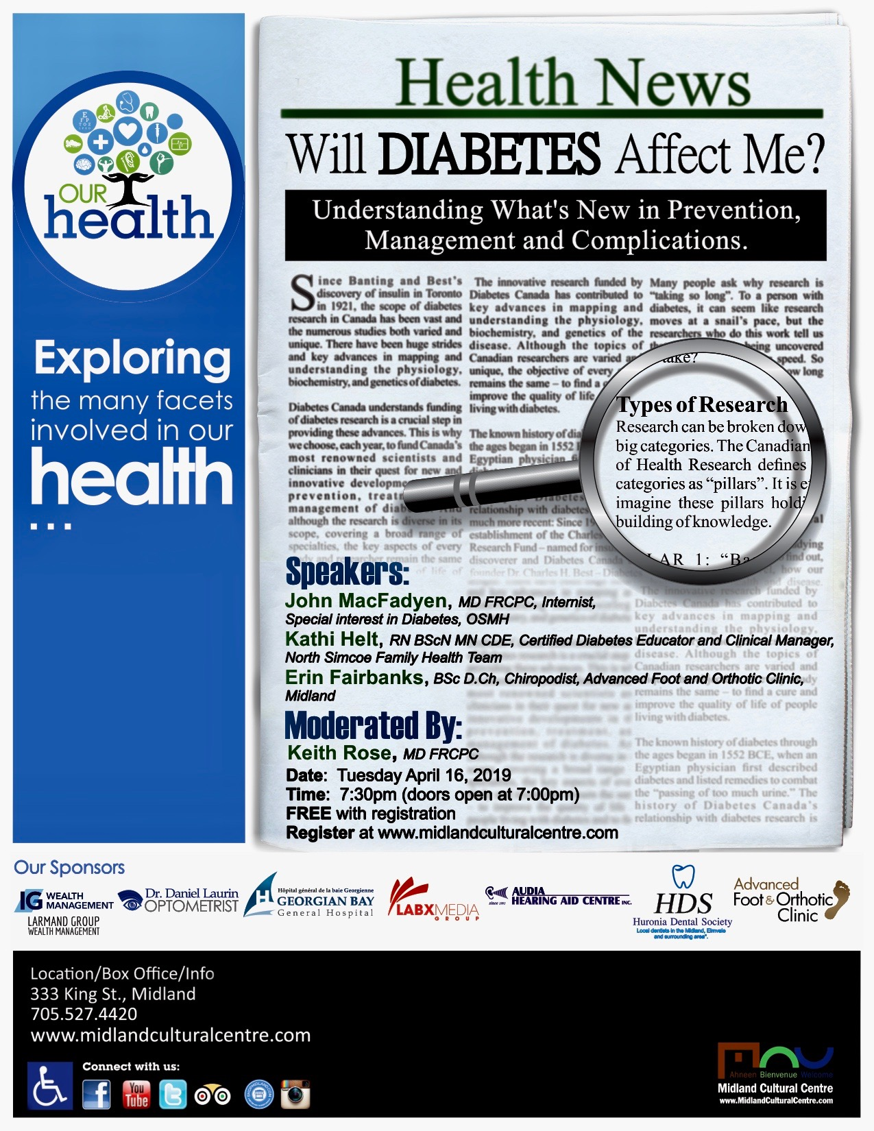 Our Health Session: Will Diabetes Affect Me?