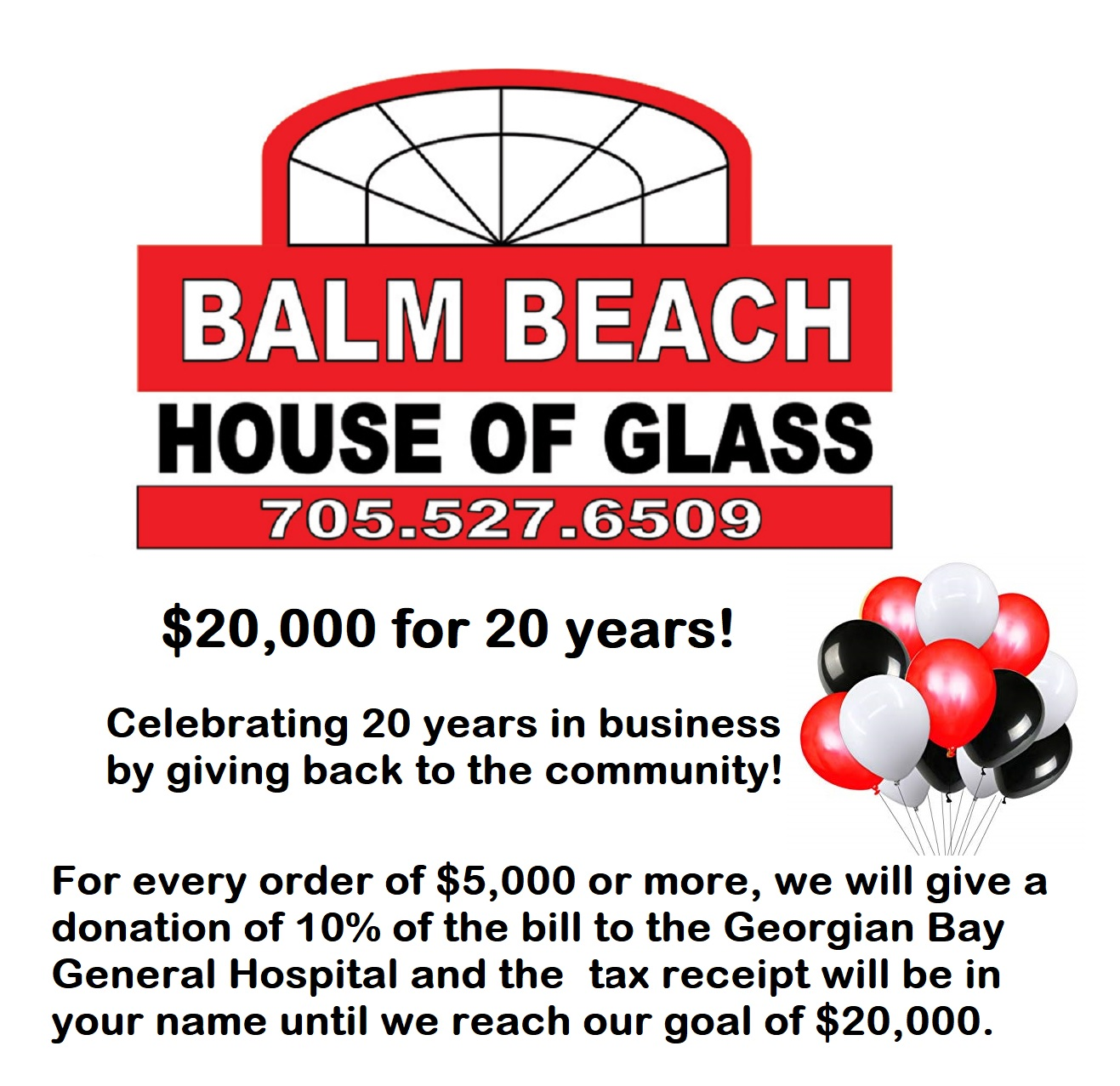 Balm Beach Glass: Celebrating 20 years in Business