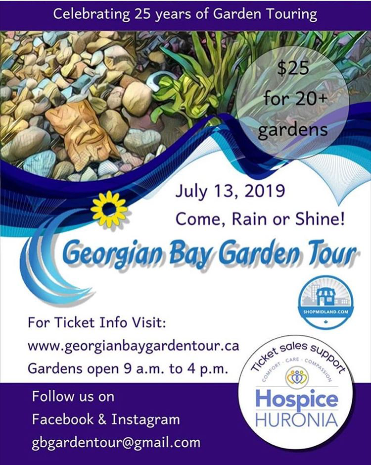Georgian Bay Garden Tour - Saturday July 13th