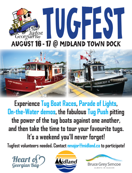 Georgian Bay Tugfest & Harbour Fair, August 16–17