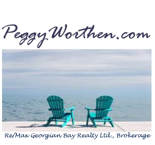 For all your real estate needs call Peggy Worthen, Broker 705-361-3613