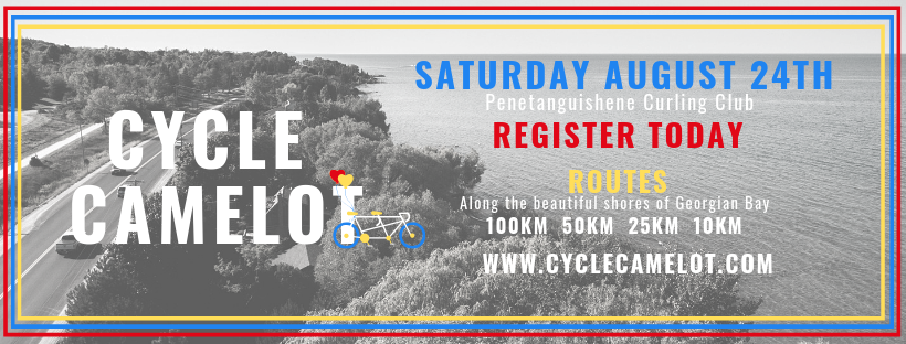 Cycle Camelot August 24th - Cycling for Local Cancer Support
