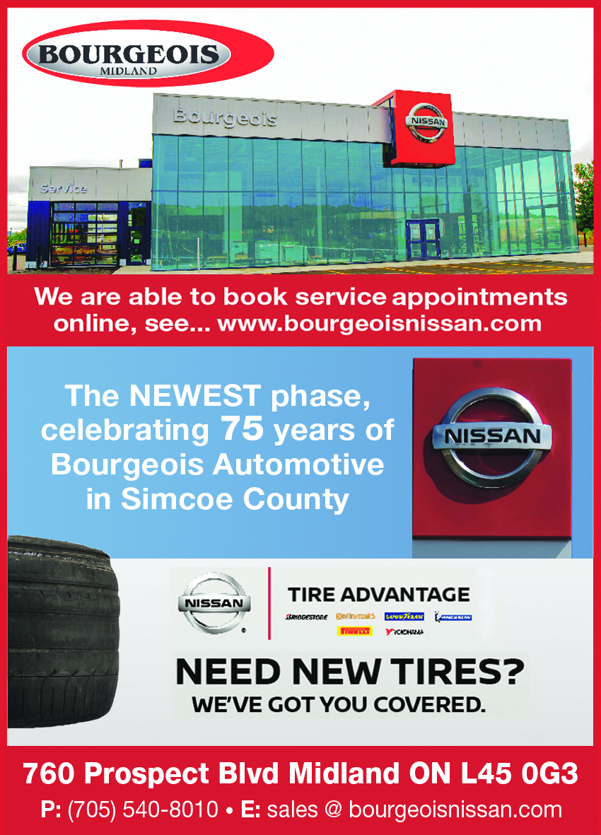 Bourgeois Nissan Midland - Innovation that excites