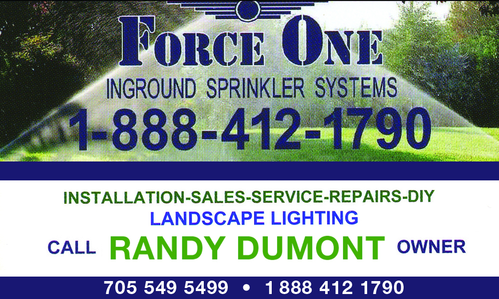 Force One - Inground Sprinkler Systems and Landscape Lighting